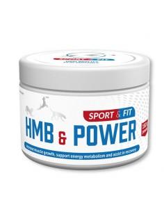 HMB & Power 150 g - Sport &...